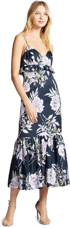 Jill Jill Stuart Women's Floral Printed Midi Dress