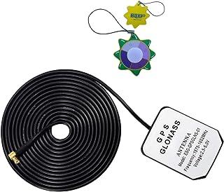 HQRP Antena externa GPS amplificada 1575.42 MHz de montaje magnético para GPSMAP 76 CS (010–00352–00) / GPSMAP 76 Cx (010–...