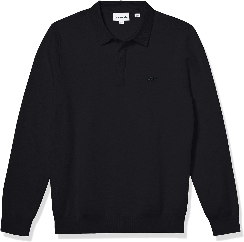 Lacoste Men's Long セール特別価格 Sleeve Regular Classic Sweater オンラインショップ Fit Stitch