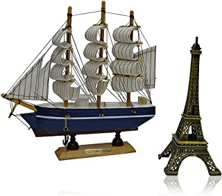 Pelly Bay's Perfect Ship et Eiffel tower Showpiece Combo