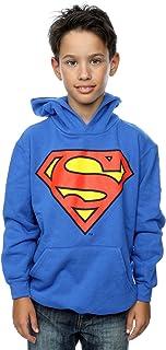DC Comics niños Superman Logo Capucha