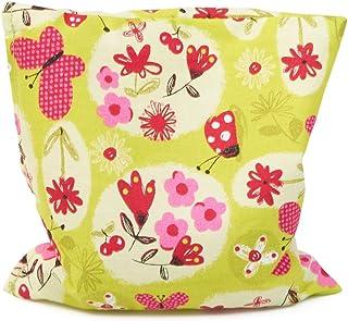 Grünspecht Naturprodukte G152-V3 Bed Pillow - Almohada (Verde, Rojo, 12 x 12 cm)