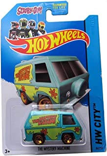 Hot Wheels 2014 Tooned I Hw City Scooby-Doo The Mystery