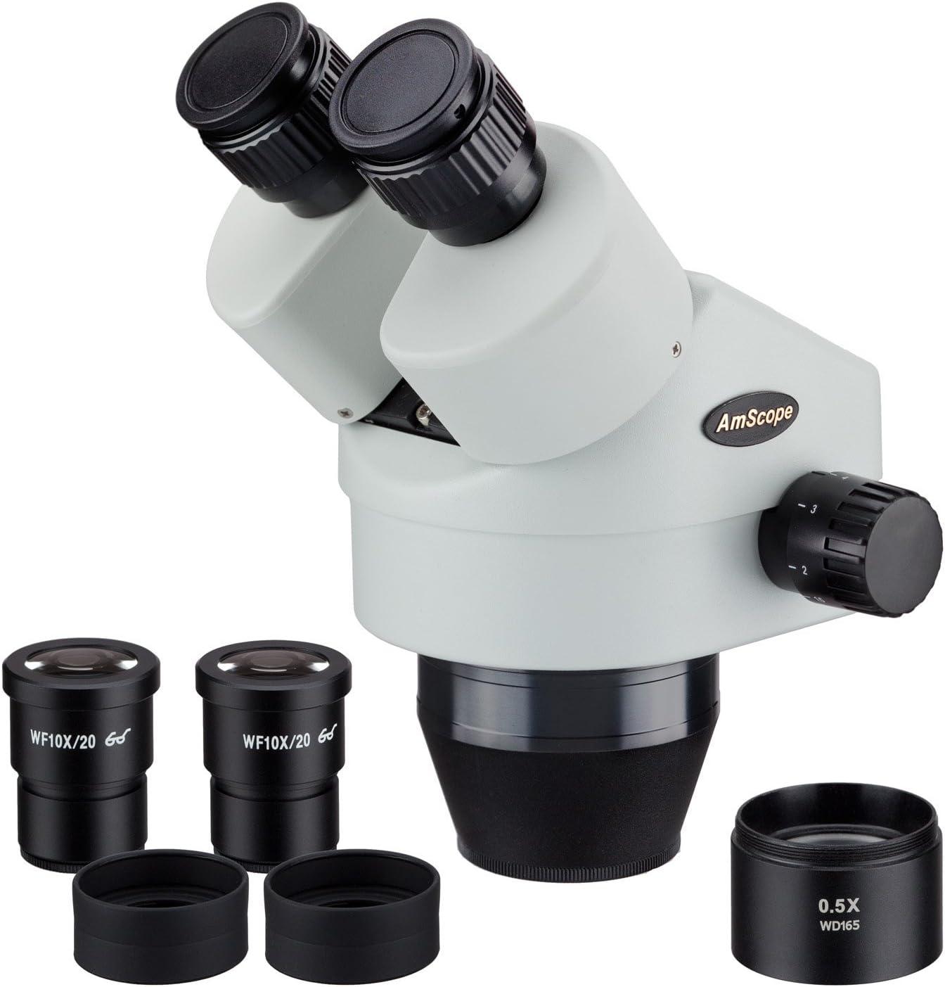 AmScope SM3545B Max 42% OFF 3.5X-45X Binocular Zoom Power trend rank Stereo Microscope