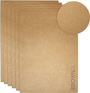 Artway Softback Sketch Book - Brown Kraft Paper - A3 - Pack of 6
