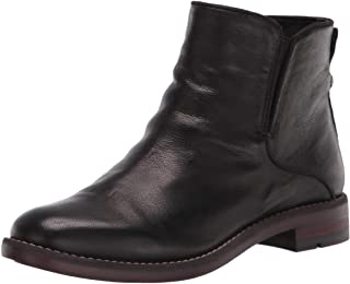 Franco Sarto womens Marcus Ankle Boot, Black, 6.5 Wide US