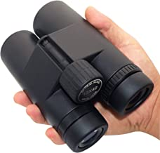 12X42 Binoculars with Low Light Night Vision, Lightweight Binoculars for Bird Watching Hiking Traveling Hunting and Sports Events,Large Eyepiece Binoculars for Kids Adults.