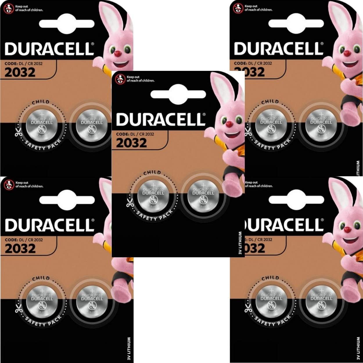 Duracell Cr2032 Lithium Knopfzelle 3 V Schwarz 5er Elektronik