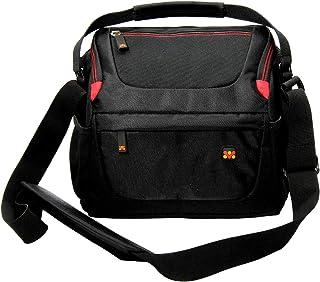 Promate Camera Shoulder Bag,Water Resistance Shoulder Case Bag for DSLR/SLR and Lens for Sony Canon,Nikon-HandyPak1-L