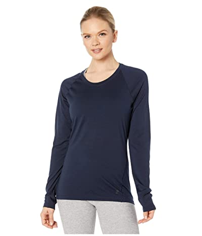 Smartwool Merino 150 Baselayer Long Sleeve (Deep Navy) Women