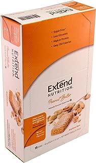 Extend Bar, Peanut Butter 1.41 oz. Bars (Pack of 15)
