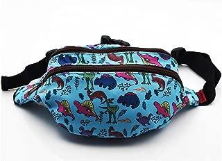 Dinosaur Bag Gift Fanny Pack Hip Bag Waist Bag Canvas Bum Belt Hip Pouch Bags
