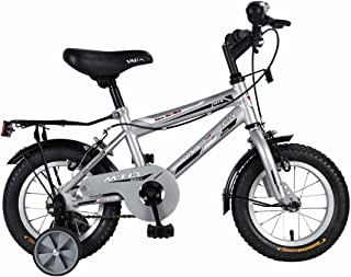 "Vaux Bicycle for Kids- Vaux Plus 12T Kids Bicycle for Boys. Ideal for Cyclist with Height (2'8"" – 3'3"") – Silver."