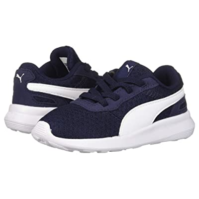Puma Kids ST Activate AC (Toddler) (Peacoat/Puma White) Kids Shoes
