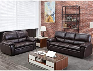 Amazon.com: Polyurethane - Sofas & Couches / Living Room Furniture ...