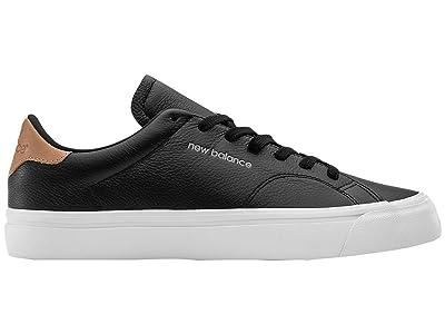 New Balance Numeric AM210 (Black/White Leather) Skate Shoes