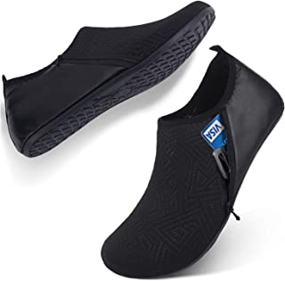 FEETCITY Mens Water Shoes Swim Shoes Women Quick-Dry Barefoot Beach Surf Boat Yoga Sneakers