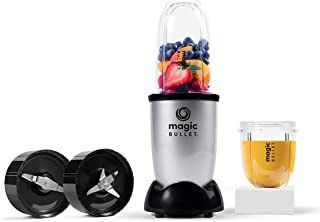 Magic Bullet 400 Watts, 6 Piece Set, Multi-Function High-Speed Blender, Mixer System with Nutrient Extractor, Smoothie Mak...