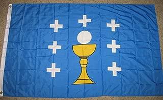 Spain Galicia Holy Grail Flag 3'x5' Galician Kingdom Banner