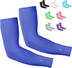 SportsTrail Cooling Arm Sleeves for Men & Women, UV Protective UPF 50 Long Sun..