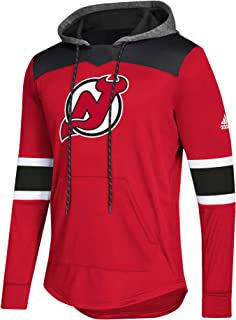 adidas NHL Men's Platinum Jersey Hooded Sweatshirt