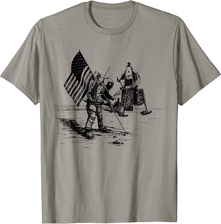 NASA USA Flag Space Travel T-shirt Nasa Christmas gift shirt – Nice Shirts Design