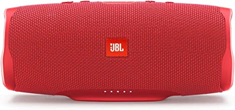 JBL Charge 4 Waterproof Portable Bluetooth Speaker with 20 Hour Battery - Red