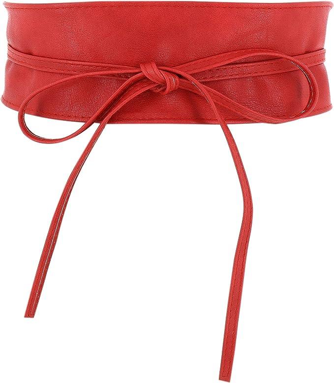 5462 opinioni per FASHIONGEN- Cintura Obi da donna, cintura Obi larga, similpelle in Poylurethane,
