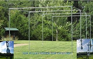 Batting Cage Frame Kit EZ UP & Down Baseball Softball Frame Kit