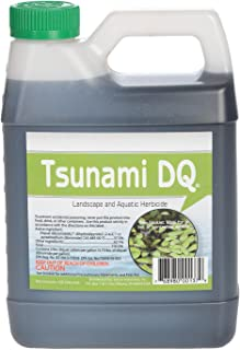 Crystal Blue 137 Tsunami DQ Aquatic Herbicide-37.3 Percent Diquat Dibromide-1 Quart, 32 oz.