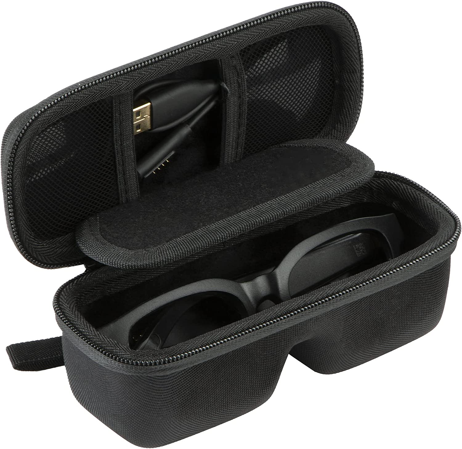 Khanka Hard Travel Case Replacement for Bose Frames Audio Sunglasses with Open Ear HeadphonesBose : Frames Alto/Frames Tenor/Frames Soprano/Frames Rondo Bluetooth Audio Sunglasses