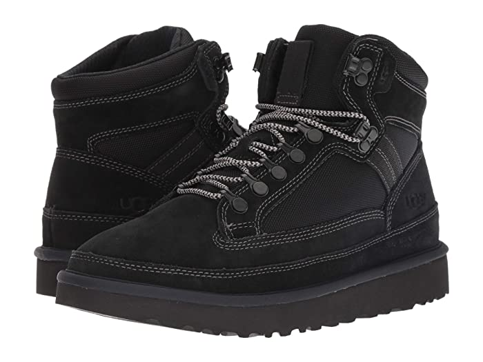 UGG  Highland Hiker (Black) Mens  Boots