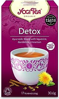 شاي تطهير الجسم من السموم من يوجي، 17 كيس، عبوة من قطعة واحدة