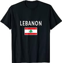 Lebanon T-shirt Lebanese Tee Flag souvenir Gift Beirut