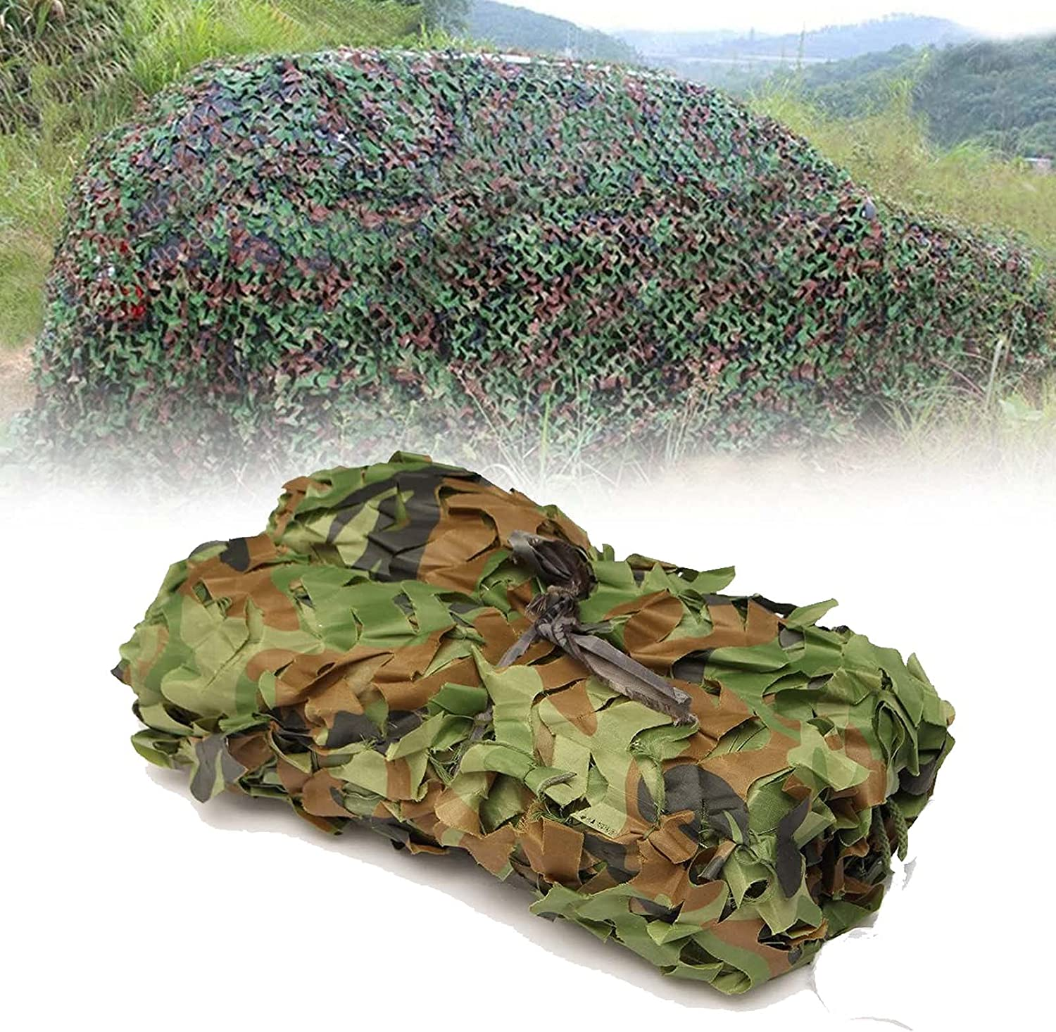 Al sold out. online shopping ZCBHSD Woodland Camo Netting Army 2 Mesh Sunscreen 2x2m Net
