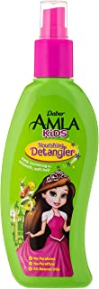 Dabur Amla Kids Detangler; Easy combing for smooth, soft hair ; Enriched with Amla,Olive, Almond; Natural oils, Vitmain E;...