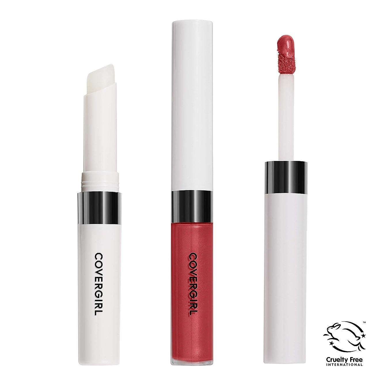 今後アセンブリスプリットCOVERGIRL Outlast All-Day Lip Color - Red Hot 517 (並行輸入品)