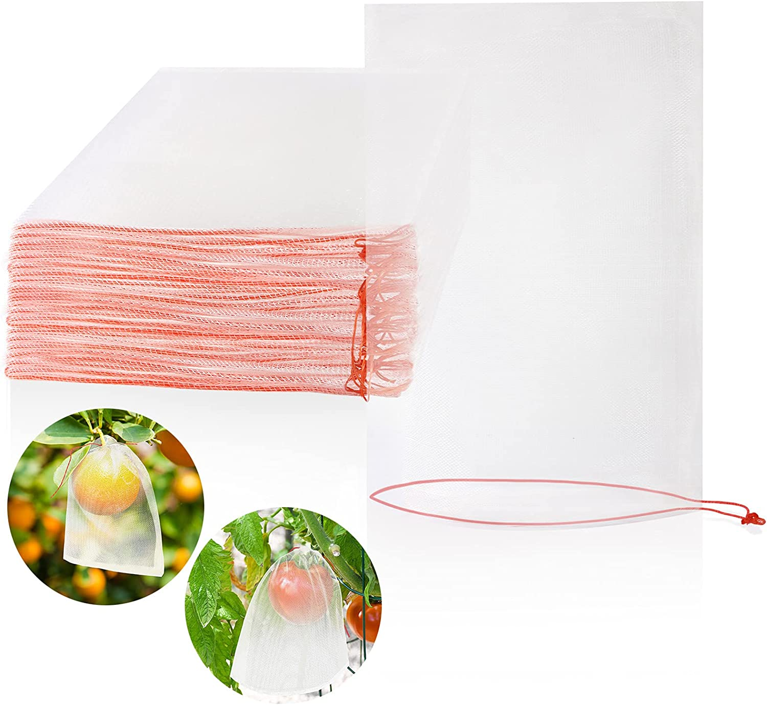 MIKIMIQI Fruit Protection Bags 25 Animer and price revision Pcs Net X10 New product type Nylon Inch Barr 6