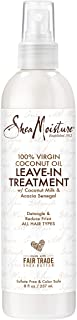 Best SheaMoisture 100% Virgin Coconut Oil Leave-in Conditioner Treatment for All Hair Types 100% Extra Virgin Coconut Oil Silicone Free Conditioner 8 oz Review
