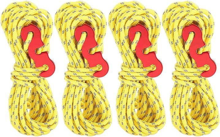 Cuerda para Tienda de Campaña, 4 Piezas/Juego Cuerda ...