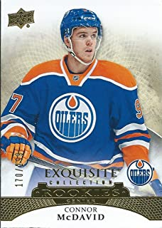 2015-16 Upper Deck Exquisite Collection CONNOR McDAVID 170/299 Rookie RC