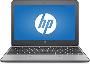 Premium HP High Performance 11.6in HD Chromebook - Intel Dual-Core Celeron N3060 Up to 2.48GHz, 4GB DDR3, 16GB eMMC, 802.1...