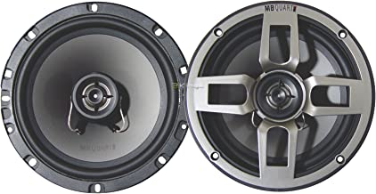 Best Mb Quart Fkb116 6.5-Inch 2 Way Formula Series Pair of Full Range Coaxial Car Speakers Review