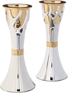 Rite Lite Tree of Life(TM) Two-Toned Candlestick Set