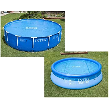 Intex 28020 - Cobertor piscina hinchable Easy Set 244 cm: Amazon ...