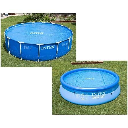 Intex 29020 - Cobertor Solar para Piscinas, 210 cm de Diámetro