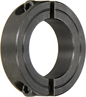 Climax Part 2C-137, Mild Steel, Black Oxide Plating, Clamping Collar, 1 3/8 inch bore, 2 1/4 inch OD, 9/16 inch Width, 1/4-28 x 3/4