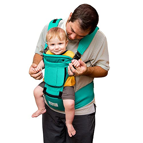 85d80cdae384 BabySteps Ergonomic Baby Carrier with Hip Seat for All Seasons