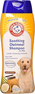 Arm & Hammer Oatmeal Shampoo for Dogs | Best Dog Shampoo for Dry Itchy Skin, Vanilla Coconut Scent, 20 Ounces