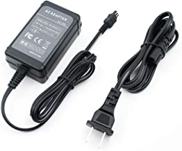 PowEver AC-L200 AC-L200B AC-L200C AC-L200D AC-L20 AC-L25 Camera AC Adapter Power Supply Charger Kit for Sony Handycam DCR Series DCR-SX40,DCR-SX44,DCR-SX45,DCR-SX60,DCR-SX63,DCR-SX8.